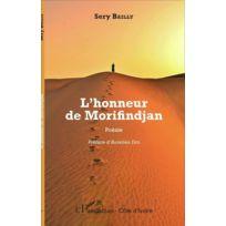 L'HARMATTAN - l'honneur de Morifindjan