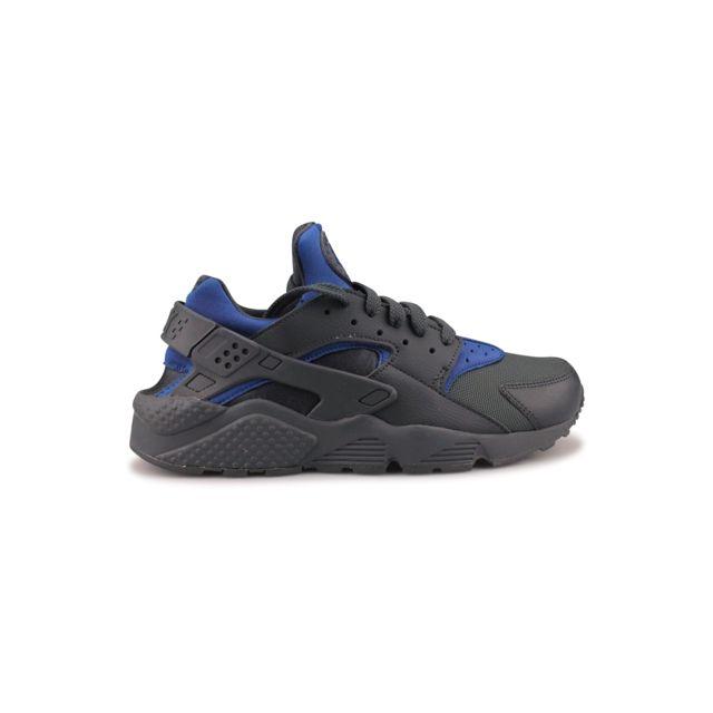 new products 90dfb 65f7c Nike - Air Huarache Gris 318429-418 - pas cher Achat  Vente Baskets homme  - RueDuCommerce