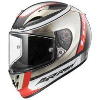 Ls2 - casque moto intégral Fibre Arrow C Evo Ff323.33 Indy carbone chrome brillant 3XL