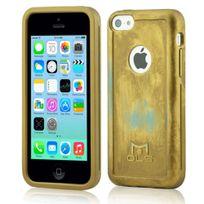 Mols - Coque antichoc Limited Edition coloris gold pouriPhone 5c