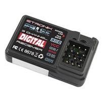Etronix - Récepteur PULSE GFSK 3CH 2.4Ghz pour radio ET1060