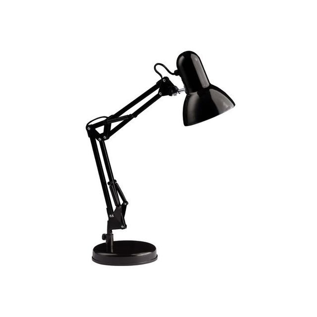 Brilliant Lampe De Bureau Style Architecte Henry 1x28w E27 Noir