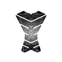 Bihr - Protection Réservoir Motographix X-3 Tribal 3 Pieces Tribal Noir