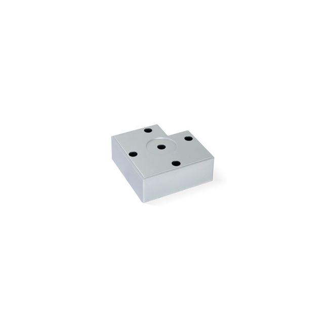 Emuca Pied Pour Meubles Alumix7 Hauteur 30 Mm En Aluminium Peint