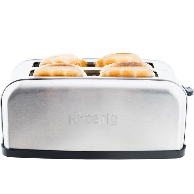 h koenig grille pain 2 morceaux de baguettes 1500 w pas cher achat vente grille pain. Black Bedroom Furniture Sets. Home Design Ideas