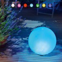 Esotec - Boule solaire multicolore 30cm