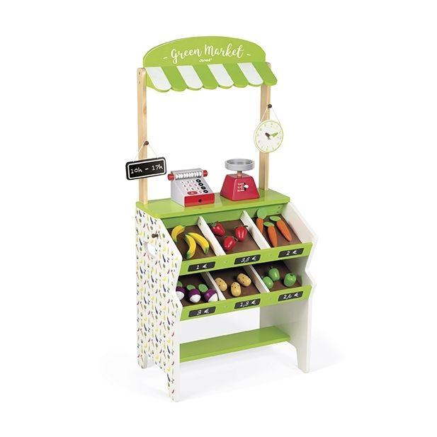 Janod Epicerie Green Market Enfant Pas Cher Achat Vente