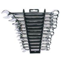 Draper Tools - Jeu de clés mixtes métriques 12 pcs Argenté 64605