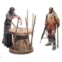 Funko - The Walking Dead Tv Version Deluxe Box pack 2 figurines Morgan & Walker 13 cm Serie 8