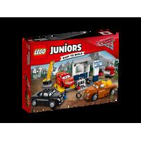 Lego - Juniors Disney Pixar Cars 3 - Le garage de Smokey - 10743