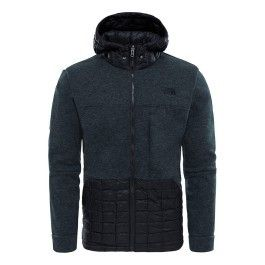 f05932938 The north face - Veste Trunorth ThermoBall Hoodie noir - pas cher ...