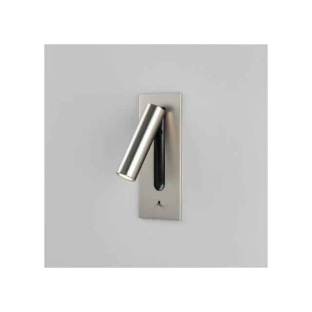 Astro Applique tête de lit Fuse Led H18 cm - interrupteur - Nickel