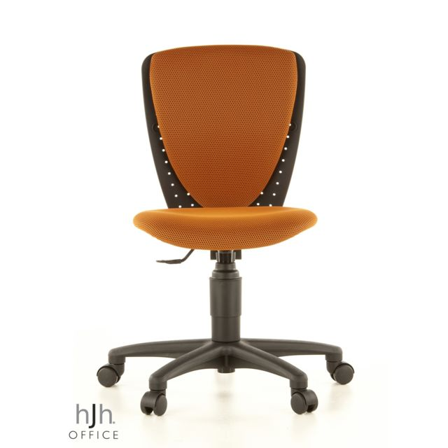 Siège de bureau enfant Siège pivotant High S'COOL 3D, tissu maille orange