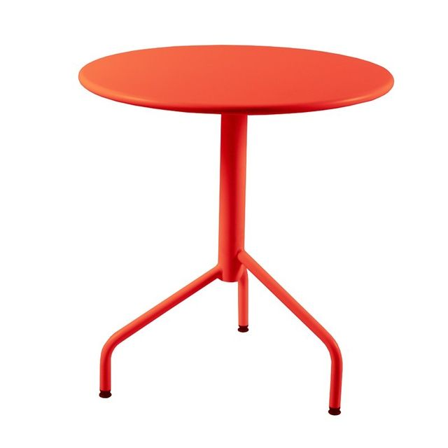 Rm Metal - Table ronde de Jardin en métal pliante 3 pieds, 60 cm ...