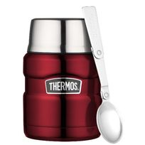 THERMOS - boite alimentaire isotherme 0.45l rouge - 184807