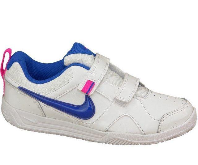 finest selection 8cb15 8b243 Nike - Lykin 11 Psv 454375-113 Enfant mixte Baskets Blanc - pas cher ...