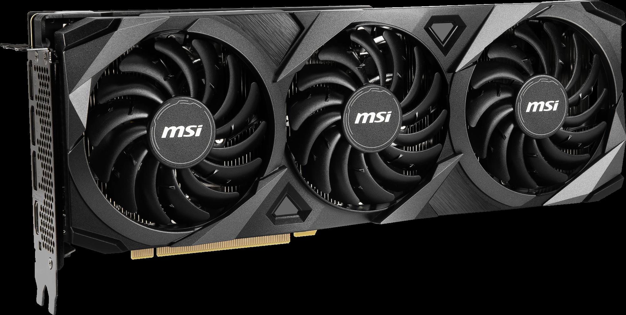 Carte graphique GeForce RTX 3070 VENTUS 3X OC MSi