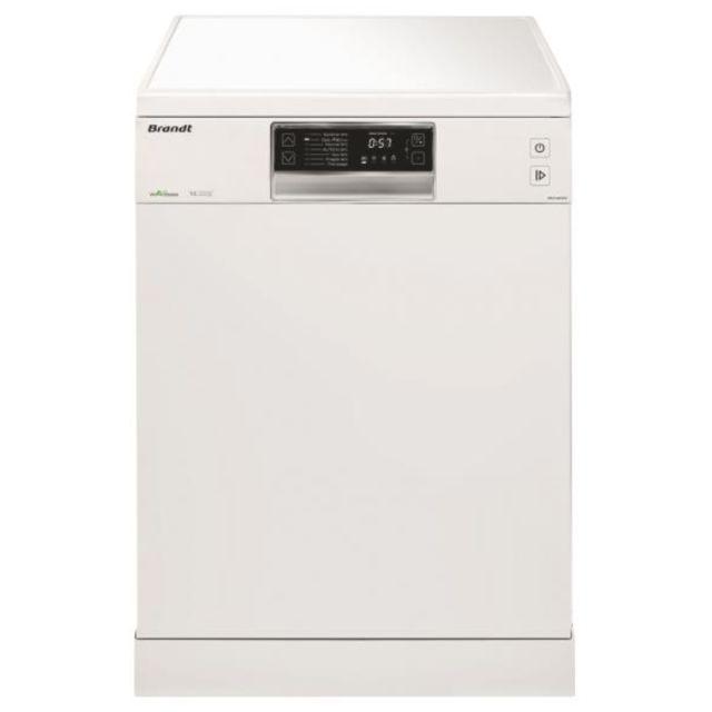 Brandt lave-vaisselle 60cm 14c 44db a++ blanc - dfh14624w