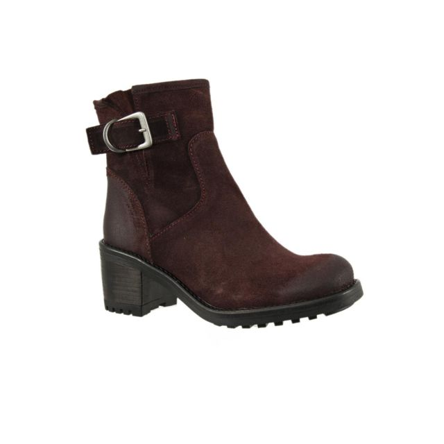 653d41ab1a9d5b E-cow - bottes et bottines andreia rouge - pas cher Achat / Vente Bottes  femme - RueDuCommerce
