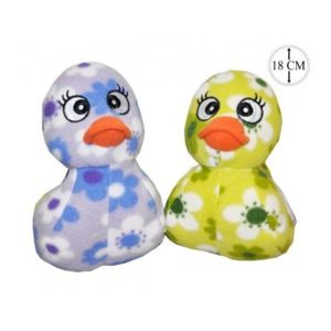 sans marque lot de 2 peluches canard fleurs 18cm pas cher achat vente ours en peluche. Black Bedroom Furniture Sets. Home Design Ideas