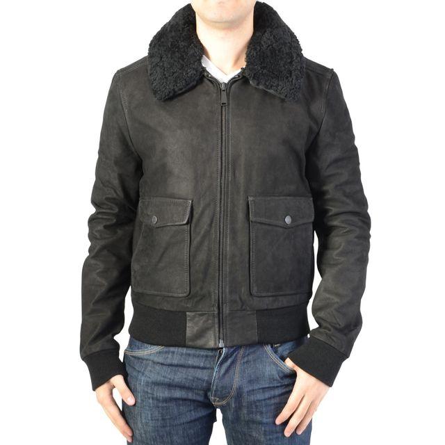 veste en cuir homme fermeture sur le cote les vestes la mode sont populaires partout dans le. Black Bedroom Furniture Sets. Home Design Ideas