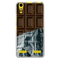 Kabiloo - Coque souple pour Lenovo K3 avec impression Motifs tablette de chocolat