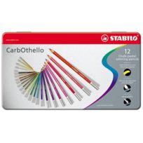 Stabilo - Carbothello BoÎTE MÉTAL De 12 Crayons