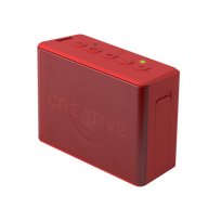 Creative Labs - Creative MUVO 2C Bluetooth Wireless Speaker Red
