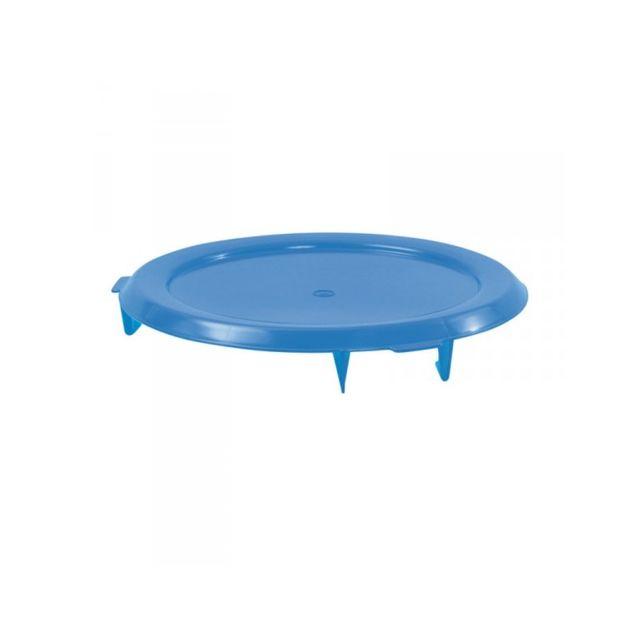 Gilac Couvercle Plat Bleu pour Conteneur 75 Litres