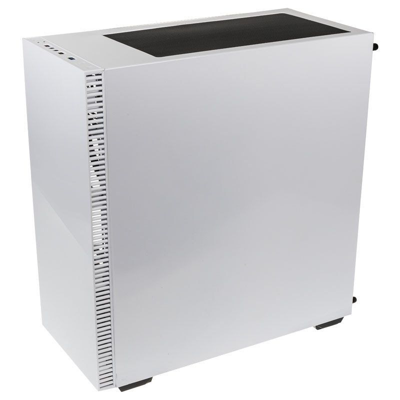 Boîtier PC Gamer Stronghold avec fenêtre Kolink Blanc