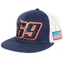 Nicky Hayden - Cap Flat Striped 69 Hayden