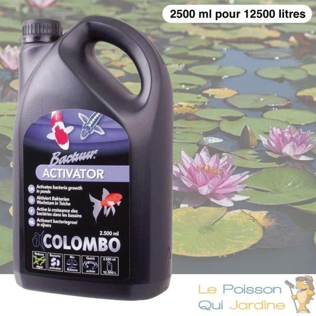 Le Poisson Qui Jardine Activateur De Bactéries 2500ml Pour Bassins De Jardin de 12500 Litres