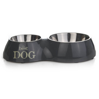 Beeztees - Double bol d'alimentation Best Dog 510 ml 37 x 17,5 cm