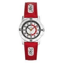 Certus - Montre Enfant Cuir Rouge 647542 Classique