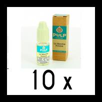 Pulp - Lot 10 e-liquides Menthe Polaire 0mg soit 4,90 euros le flacon 10ml