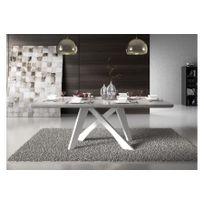 Chloe Design - Table de repas design Teicy - gris foncé