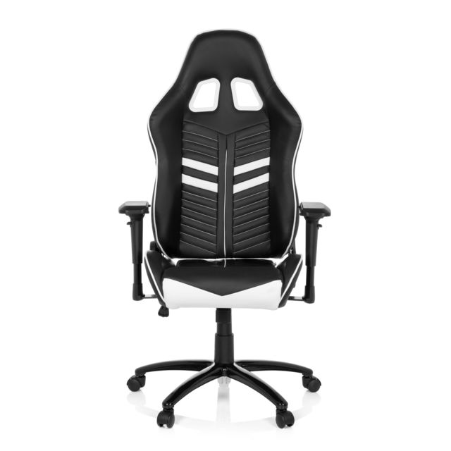 De Bureau Chaise Pro Cuir Blanc Noir Gaming League Simili EDYWIeH29