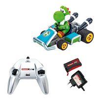 Carrera Rc - Mario - Mario Kart 7-Yoshi radiocommandé 1/16 ème
