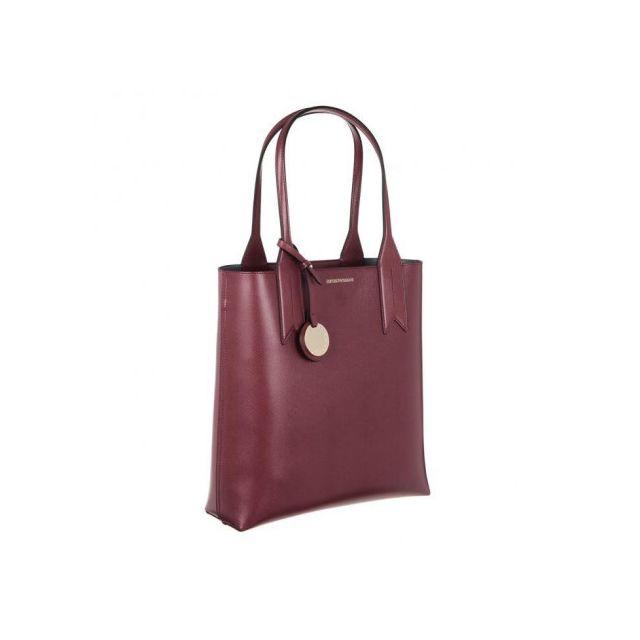 bas prix c8730 a8bab Emporio Armani Sac a Main Y3D116YH15A82757 - Bordeaux - Femme
