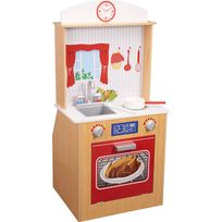 IMITATION GAME - Cuisine en bois pour enfants 2 en 1 - KYW-12085A