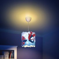 Philips Marvel - Suspension cylindrique diamètre 26cm en plastique Spiderman