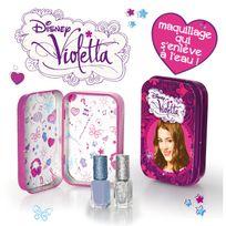 Giochi Preziosi - Maquillage Violetta : Boîte en métal + 2 vernis à ongles gris