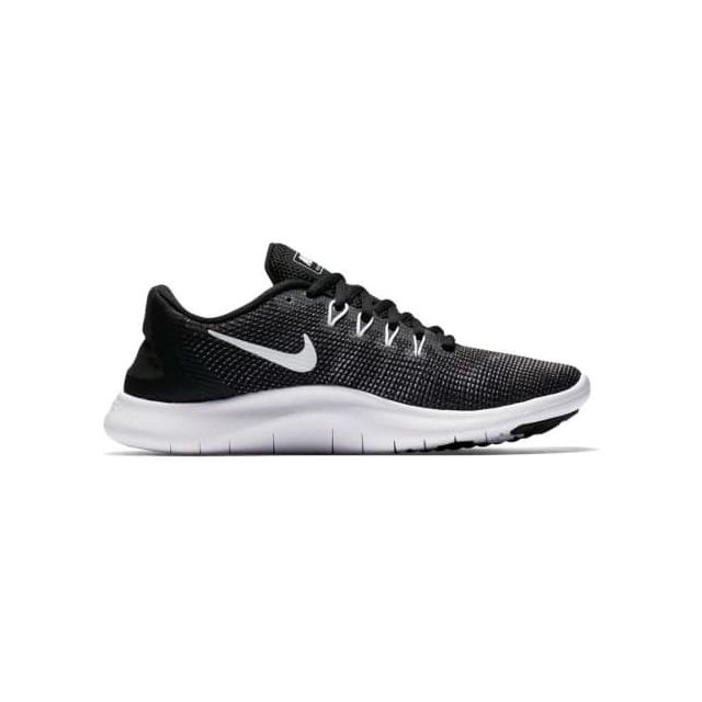 new style c0599 47be6 Nike - Chaussures Nike Flex Rn 2018 noir gris blanc femme