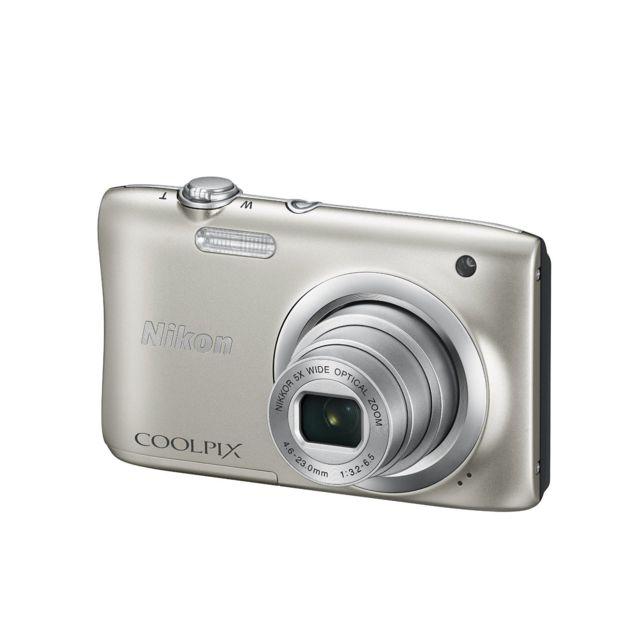 NIKON appareil photo compact - coolpix a100 argent