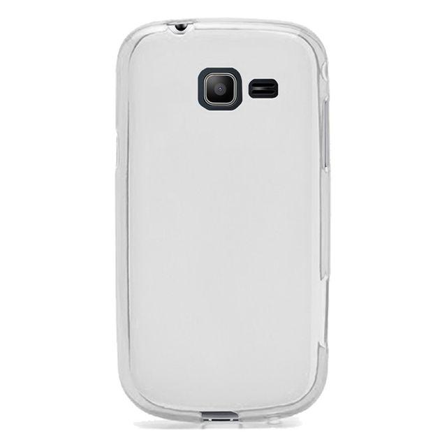 7a844cb4f1efb2 Kabiloo - Coque Souple en Gel noir transparent Samsung Galaxy Trend Lite
