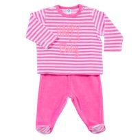 92a59af584fc2 TEX BABY - Pyjama bébé HAPPY BABY en velours