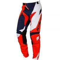 Kenny - Performance Orange Blue Navy Pant