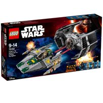 Lego - STAR WARS - Le TIE Advanced de Dark Vador contre l'A-Wing Starfighter - 75150