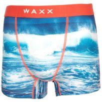 Waxx - Sous vêtement boxer Wave boxer homme Bleu 38540