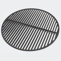 Aqua Occaz - Grille de Barbecue Ronde en Fonte Diamètre 45 cm - 051527